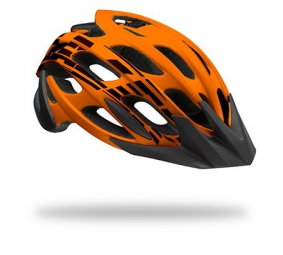 Casque Lazer ''Magma'' 2015 Flash Orange/Noir