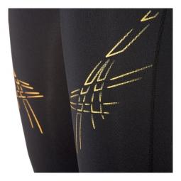 ASICS Corsaire Stripe Noir Femme