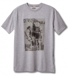 OAKLEY T-Shirt FACTORY PILOT GREG LEMOND Gris