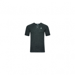 T shirt mc evolution light blackcomb black odlo steel grey m