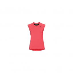 T shirt odlo mc ceramicool fiery coral black s