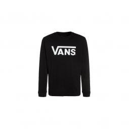 T-shirt Vans Men Classic Ls Black White