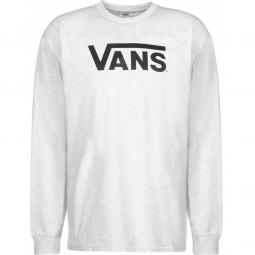 T-shirt Vans Men Classic Ls Ash Heather Black