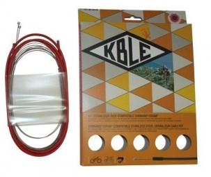 TRANSFIL Kit Dérailleur INOX Shimano/Sram Rouge