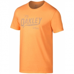 T shirt homme legs reverse tee orange oakley m