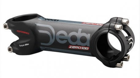 DEDA Potence ZERO 100 Black on black 120 mm Noir