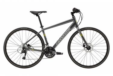 Cannondale Quick Disc 5 Bicicleta de ejercicios Shimano Acera / Altus 9S 700 mm Gris carbón 2019