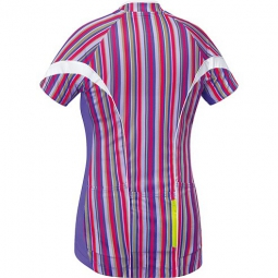 gore bike wear maillot manches courtes femmes power violet xs