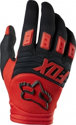 FOX Paire de gants Enfant DIRTPAW RACE Rouge
