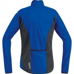 gore bike wear veste femme element windstopper active shell bleu noir l