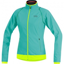 GORE BIKE WEAR 2015 Veste Femme ELEMENT WINDSTOPPER Active Shell ZIPP-OFF Turquoise/