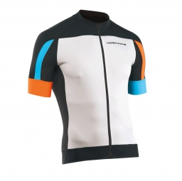 bug NORTHWAVE Maillot SONIC Blanc Noir