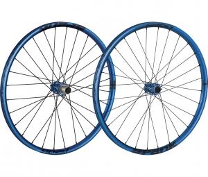 SPANK Paire de Roues OOZY TRAIL 260 27.5´´ 15mm 12x142mm Bleu