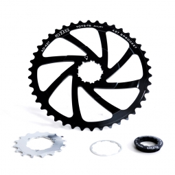 A2Z Expander Sprocket for Shimano 10 Speed Cassette - Black