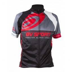 bv sport veste cycle rc 100 noir rouge s
