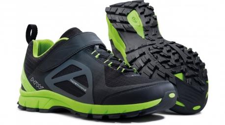 Chaussures VTT NORTHWAVE ESCAPE EVO Noir Vert