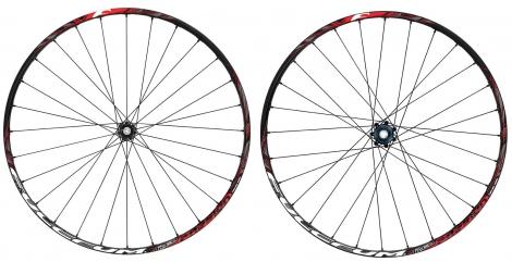 fulcrum paire de roue red passion 27 5 disque 6tr avant 9 15mm arriere 9mm shimano sram noir