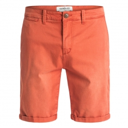 short Quiksilver Krandy Chino Orange