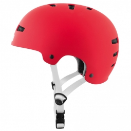 Casque bol TSG EVOLUTION Solid Color Rouge
