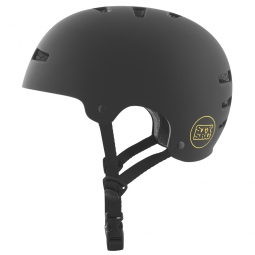 Casque bol TSG EVOLUTION Charity STAY STRONG Noir