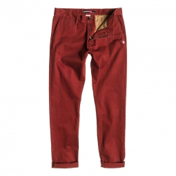 Pantalon Quiksilver THE KREST Rouge
