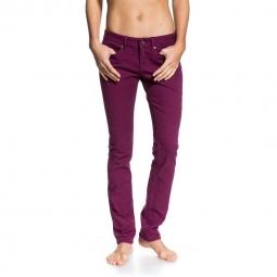 Pantalon Roxy Suntrippers colors Rouge