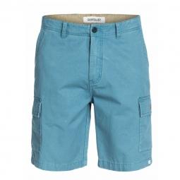 Short quiksilver everyday cargo short bleu 28