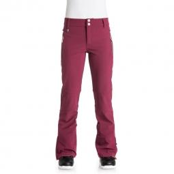 Pantalon de ski Roxy Torah bright Motion Bordeaux