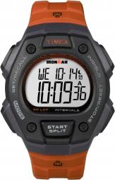TIMEX Montre IRONMAN Triathlon 50 Noir Orange