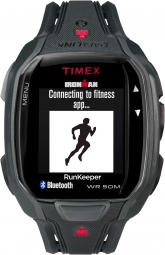 timex montre ironman run x50 gris rouge