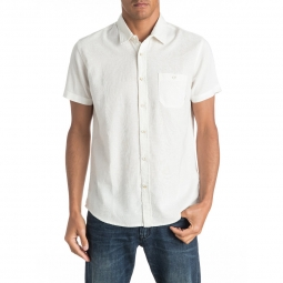 Chemise a manches courtes quiksilver time box s
