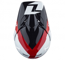 Casco integral ONE INDUSTRIES ATOM BOLT Negro Rojo