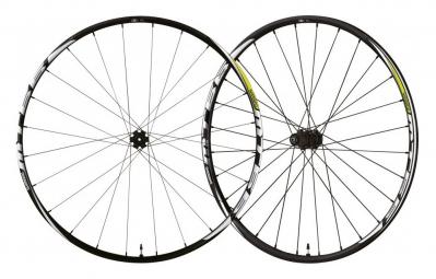 "Shimano MT66 MTB 26"" Wheelset CenterLock 15mm 9x135mm 2015"