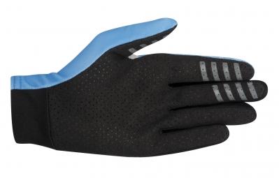 alpinestars paire de gants f lite bleu l
