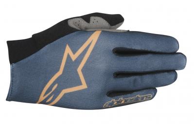 alpinestars paire de gants aero bleu s