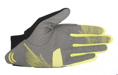 alpinestars paire de gants aero violet jaune l