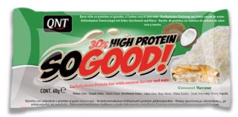 QNT en-cas hyperprotéiné SO GOOD noix de coco 60gr