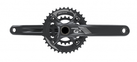 sram pedalier gx 1000 gxp fat bike 100mm boitier non inclus 24 36 dents 11v noir 175