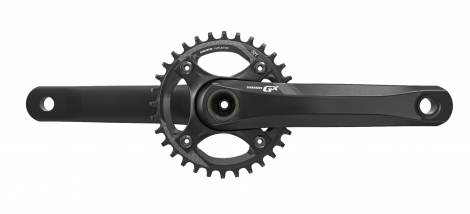 Sram GX 1400 11 Speed Chainset - 32t GXP Black