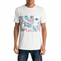 Tee shirt manches courtes quiksilver faded time s