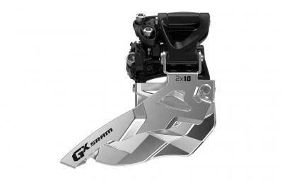 SRAM Dérailleur Avant GX 2x10V Collier Haut 34Dents