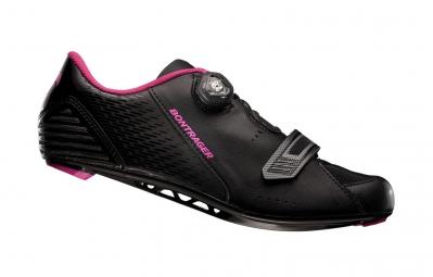 chaussures route femme bontrager anara 2015 noir rose 37