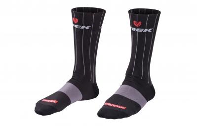 bontrager paire de chaussettes trek factory racing replica 13cm 37 39