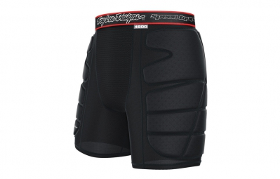 troy lee designs short de protection 4600 noir kid l