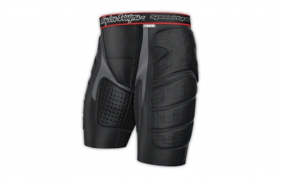 troy lee designs short de protection avec peau de chamois 7605 noir kid l