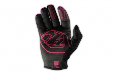 troy lee designs gants gp air rose noir s