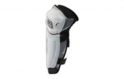 Troy lee designs genouilleres avec protege tibia method blanc xs s