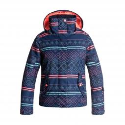 Veste de ski roxy roxy jetty girl jacket 12 ans