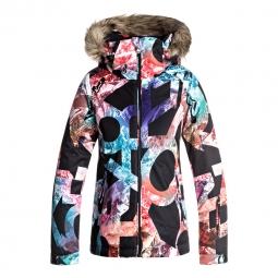 Veste de ski roxy jet ski girl jacket 8 ans