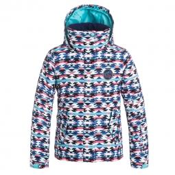 Veste de ski roxy roxy jetty girl jk 10 ans